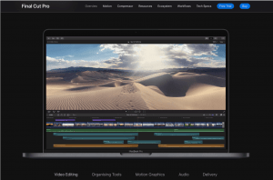 Final Cut Pro for video production companies